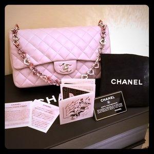 Authentic Chanel Valentine Heart Purse